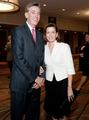 Torch of Liberty dinner, November 2012, Neal Manne, Nancy Manne