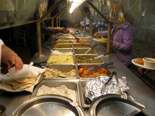 Madras Pavilion, Indian buffet