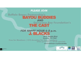 Happy Hour with Bayou Buddies and The Cast
