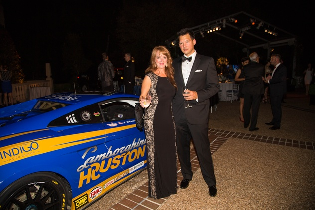 5 Kelly and Albert Chlouber at the Lamborghini party September 2014
