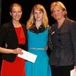 Miranda Parham and Kelsey Head, Second Thought Theater, Laura Einspanier , taco grant presentation