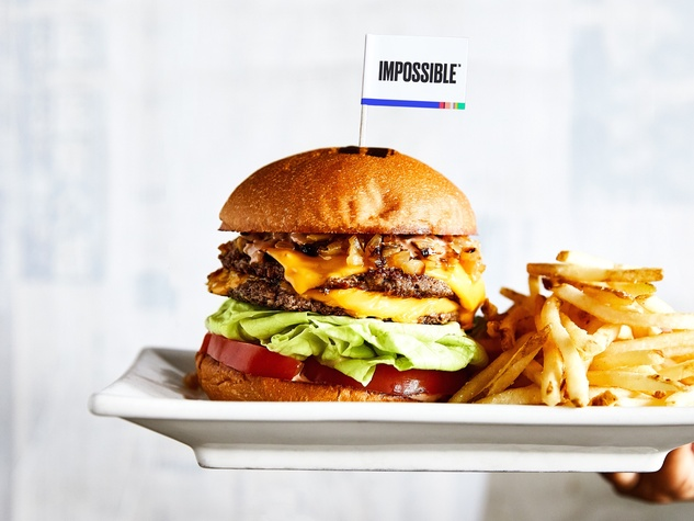 Umami Burger Impossible Burger