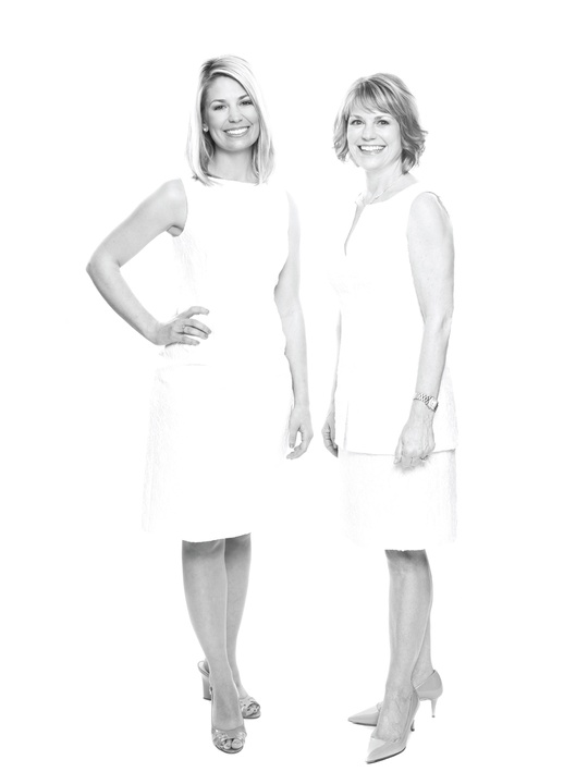 Fashion genes mother daughter April 2014 Elise and Kelley Lubanko