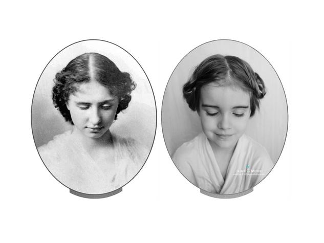 Emma as Hellen Keller