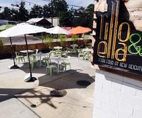 Lillo and Ella patio