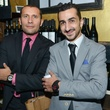 19 Rueben Lizaola, left, and Tarek Moselmanieh at the CultureMap Social at Boheme September 2014