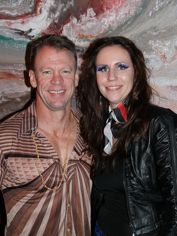 5 Craig and Anna Sites at the Eleven XI party November 2013