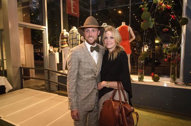 Austin Fashion Week kick off party at estilo 2013 Ross and Erin Bennett