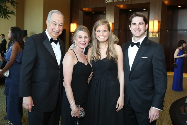 Symphony Ball, May 2015, Robert and Nancy Peiser; Lindsay Canning; Edward Heap