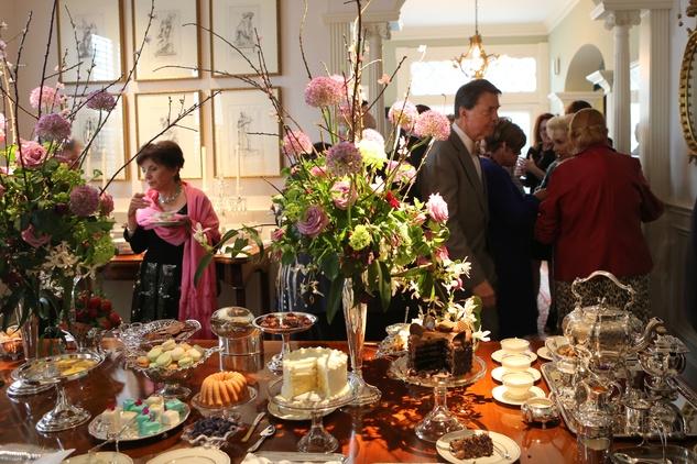 187 Jackson Hicks' tea table at the Houston Grand Opera Tea March 2015