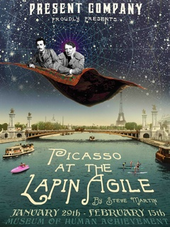 Present Company_Picasso at the Lapin Agile_Martin_Museum of Human Achievement_2015