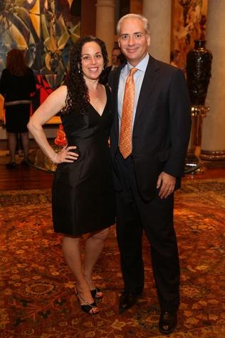 News, Shelby, Symphony underwriter dinner, April 2015, Viviana and David Denechaud