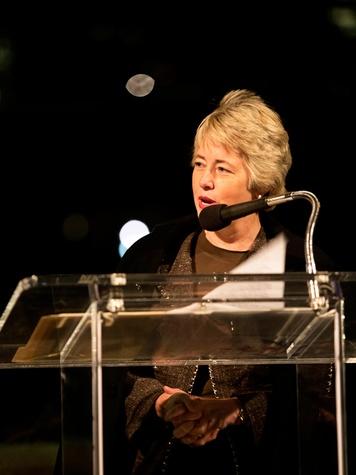18 Mayor Annise Parker at the Buffalo Bayou Partnership's Green and Growing Gala November 2013