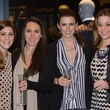 Sarah Broyles, from left, Paige Matthews, Susie Condara and Michelle Nelson at the Suitsupply Houston grand opening party December 2013