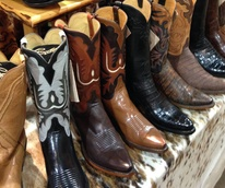 Lucchese boots at Pinto Ranch cowboy boots