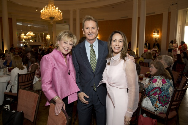 Houston, Spaulding for Children Luncheon, May 2015, Pam Burge, Frank Billingsley, Lisa Duchman