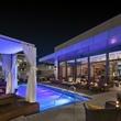 New Year's Eve parties December 2013 Hotel Sorella pool towards Monnalisa bar