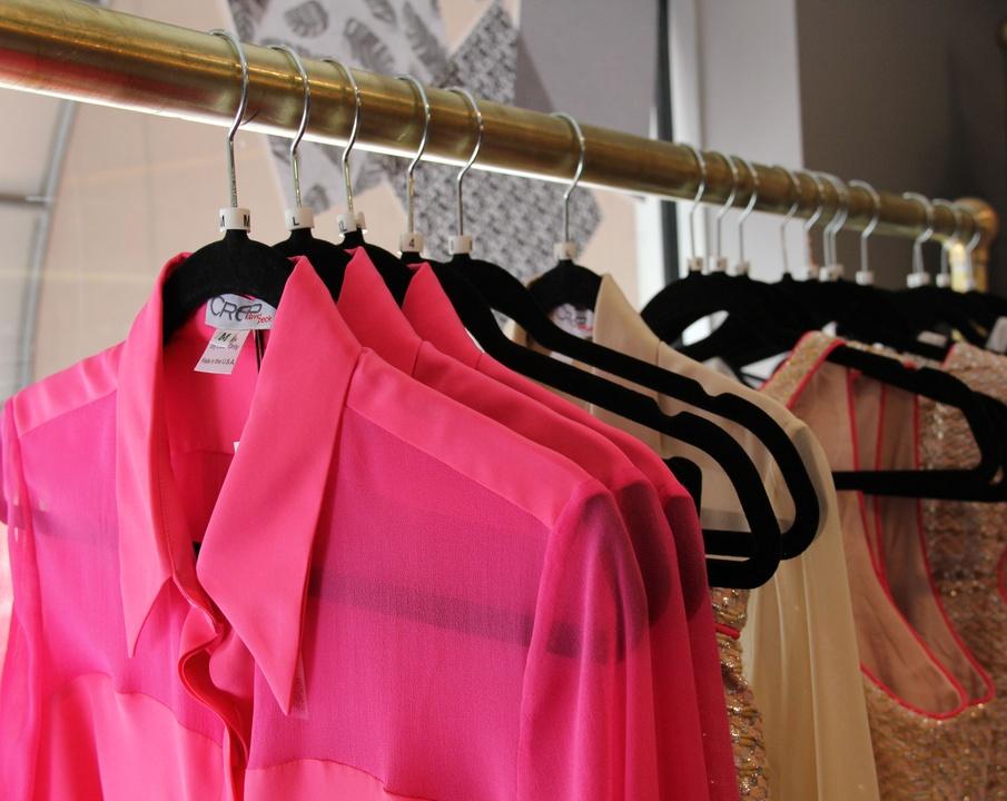 Heather, David Peck, February 2013, ClothesRack, Showroom
