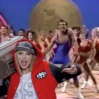 Taylor Swift aerobics