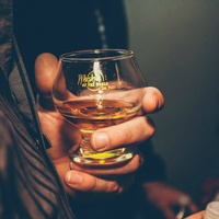 glass of whiskey for Whiskies of the World expo