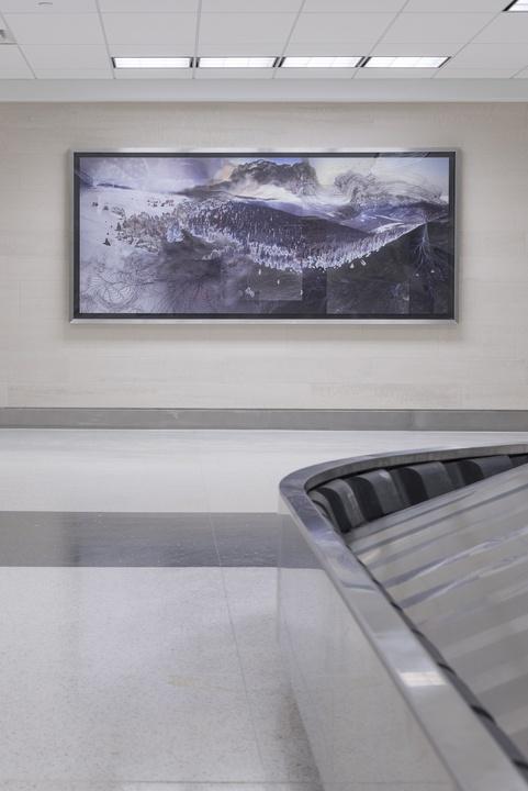 Kia Neill, Language of Evolving Trails, Hobby Airport art