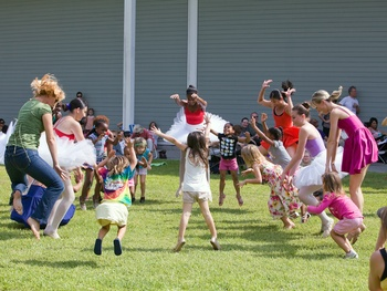 The Menil, 25th birthday, September 2012, City Dance Company