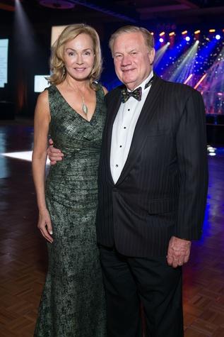Alice and Keith Mosing at Memorial Hermann Gala