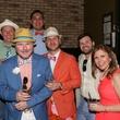 Austin Influential Group Derby Day at Ten Oak John Richey Joseph Guillory Erine Perez Tom Stanek Andrew Donilon Courtney Pett