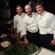 146 Richard Knight, center at the Bon Vivant Dinner January 2014