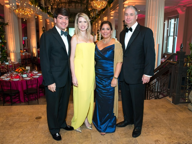 1 David and Courtney Toomey, from left, and Carmen and Butch Mach at the Children's Museum Gala October 2014