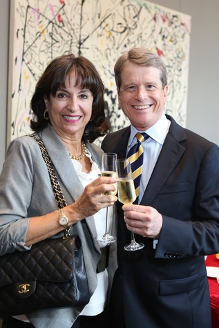 15 Mady Kades and Dean Gladden at the Alley Theatre groundbreaking luncheon July 2014