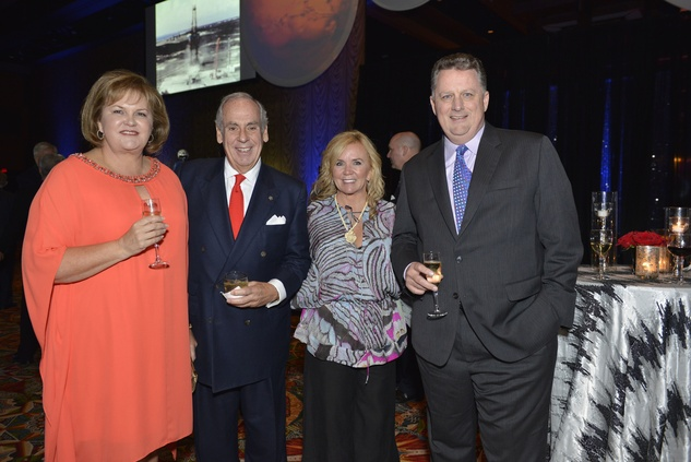 Houston, Galaxy Gala Space Center, May 2015, Paula Prior, John and Debbie Daugherty, Jay Prior