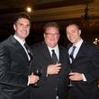 Michael Burnett, from left, Chris Shepherd and Bobby Heugel at the Rice Design Alliance Gala November 2013