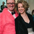 14 James Glassman, Jennifer Nelsen at the Hair Ball January 2014