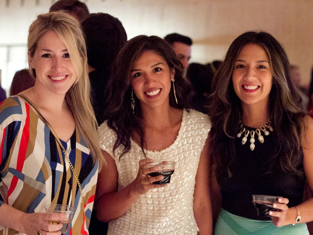 MOD Event at the LBJ Library Madeline Hollern Sara Hussey Cristina Facundo