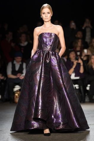 Christian Siriano fall collection look 34
