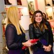 Heather McLeskey, left, and Elaine Turner at Elaine's Big Life premier party at Elaine Turner November 2014.
