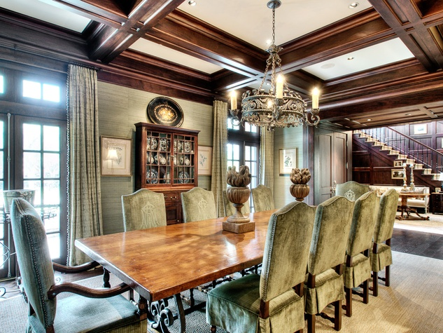 Houston, most expensive homes, 1722 River Oaks Blvd., January 2013, dining room