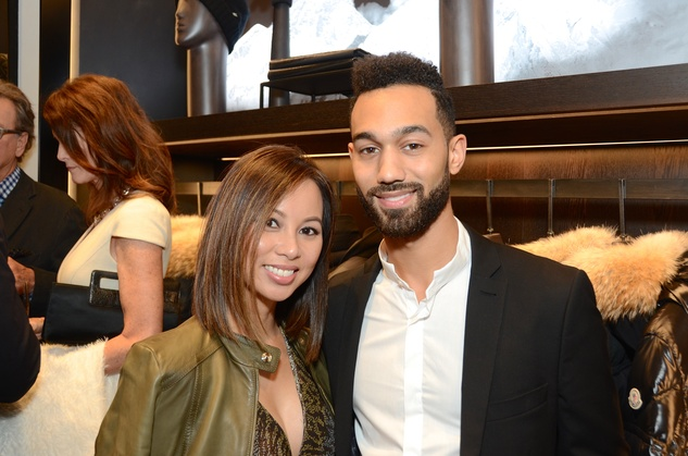 News, Moncler opening, Dec. 2015, Nancy Nguyen, Derion  Bush