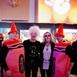8 Erika Mathre, from left, Paul Hensley, Carol Howenstine and Steven Wagner at the Orange Show Gala November 2014