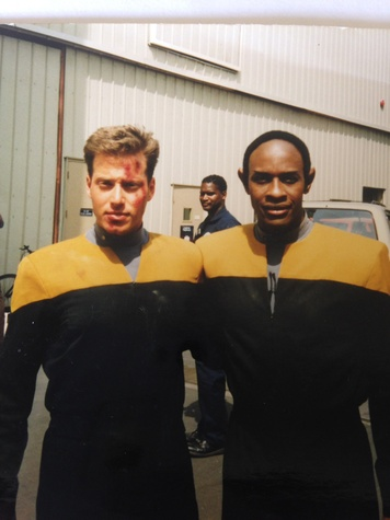 Shepard Ross Star Trek and another dude