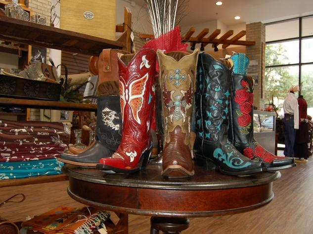 King Ranch Saddle Shop, CityCentre, December 2012, cowboy boots