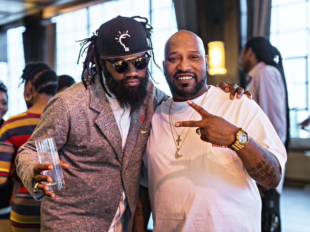 Coltrane Curtis and Bun B Tanqueray Trunk Show