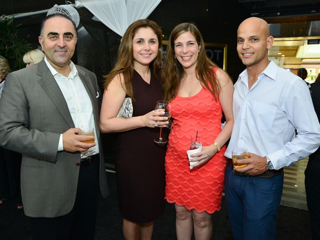 12 Zadok Hublot Party Houston May 2013 Don Baysal, Dilsat Baysal, Damla Karsan, Daniel Stein
