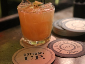 Bottom&#39;s Up, Del Frisco&#39;s Grille, March 2013, cocktail, drink