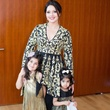 Rekha Muddaraj, Laxmi and Lara at International Mothers Day Soiree