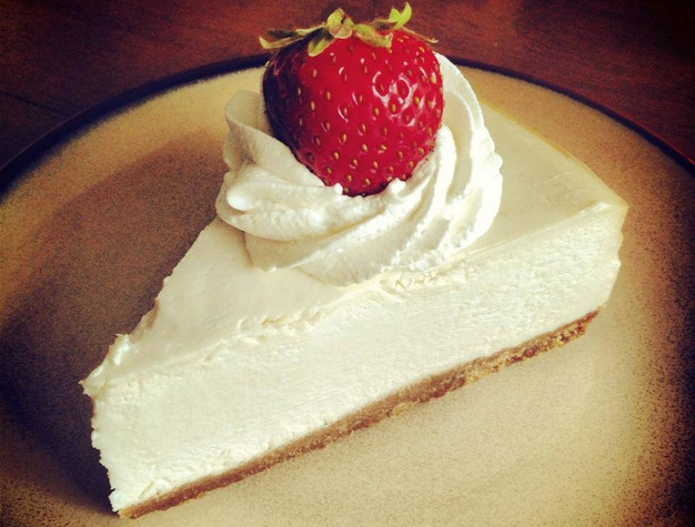 Vegan cheesecake at Reverie Bakeshop in Richardson