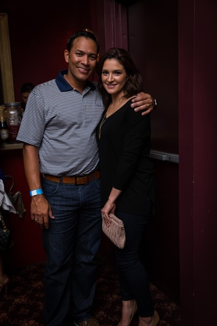 Clutch City Battioke 2015 Sarah and Jose Cruz Jr