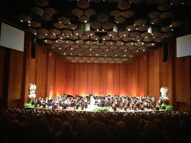 Houston Symphony opening night 2013 applause