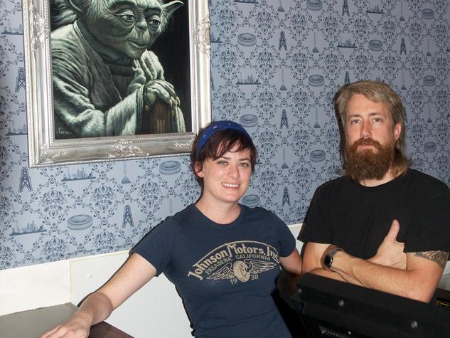 4 Lowbrow chef Rachel Merk and chef Jason Kerr October 2013